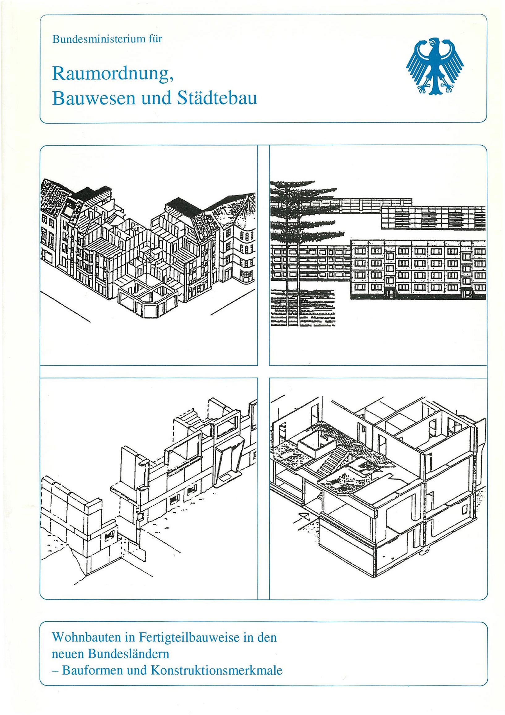Forschungsbericht: Wohnbauten in Fertigteilbauweise - Coverbild