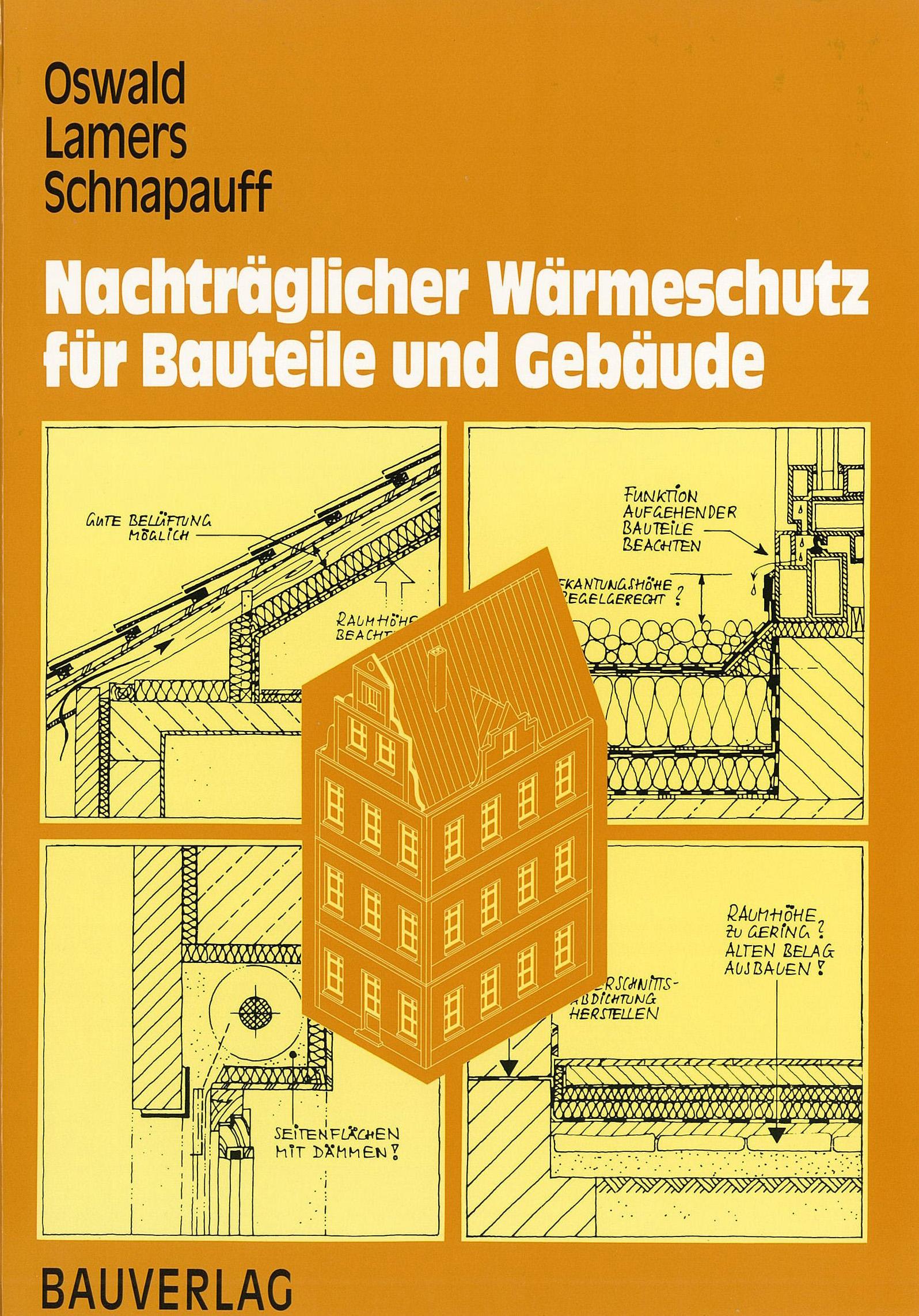 Forschungsbericht: Nachträglicher Wärmeschutz - Coverbild
