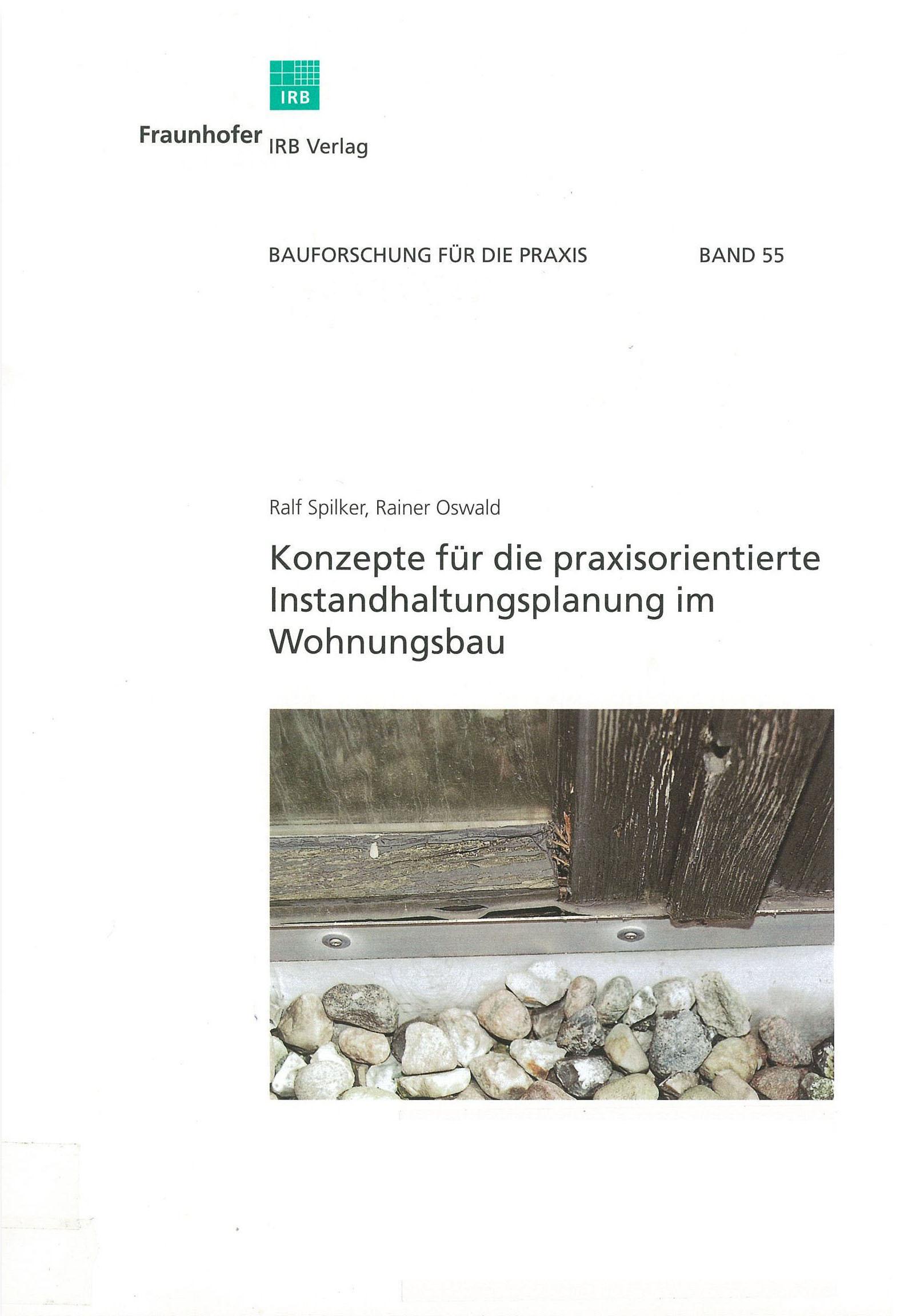 Forschungsbericht: Konzept für die Praxisorientierte Instandhaltung im Wohnungsbau - Coverbild