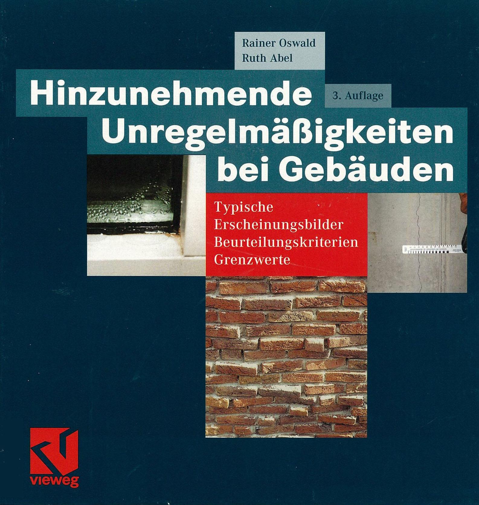 Forschungsbericht: Hinzunehmende Unregelmäßigkeiten bei Gebäuden, Cover